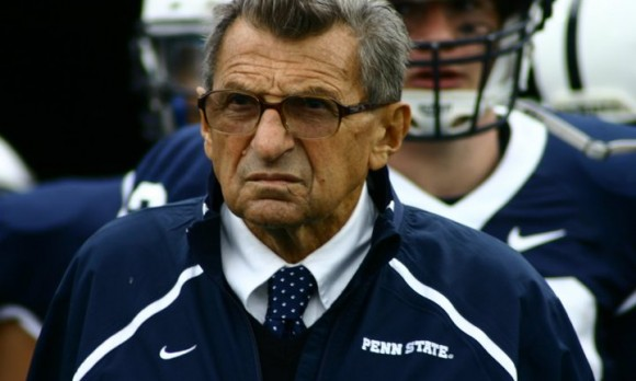 Former Penn State head coach Joe Paterno